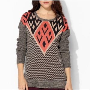 Urban Outfitters Ecote Geometric Print Sweater M